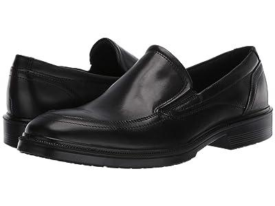 ECCO Maitland Apron Slip-On (Black) Men