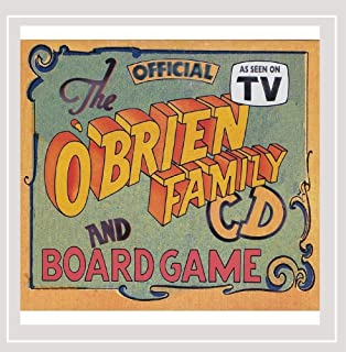 The Official O'brien Family Cd and Board Game