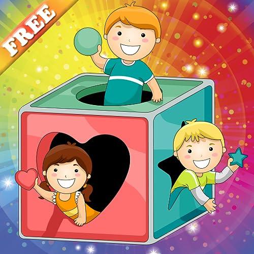 Formen und Farben für Kleinkinder : Ihrem Kind helfen, um die Feinmotorik zu entwickeln ! Pädagogische Puzzle-Spiele KOSTENLOS