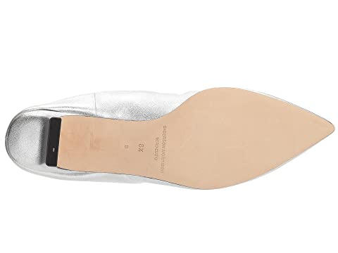 Sigerson Morrison Marie Silver Buttery Leather Manchester For Sale Visit For Sale Outlet Locations Sale Online Cheap Store rphmT