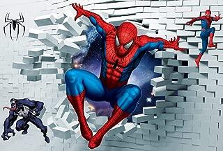spiderman theme backdrop