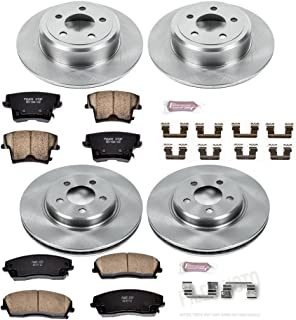 Autospecialty KOE1715 1-Click OE Replacement Brake Kit