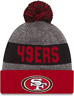 New Era NFL Sideline Bobble Beanie One Size San Francisco 49ers