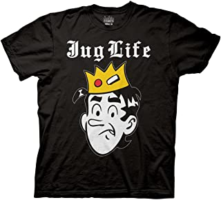 Archie Adult Unisex Jug Life Light Weight 100% Cotton Crew T-Shirt