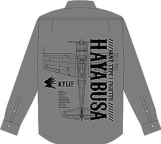 荒野のコトブキ飛行隊 グラフィック シャツ 隼一型 ver グレー XL