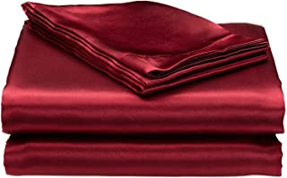 satin bed sheets online india