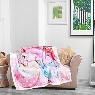 custom unicorn blanket