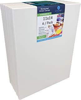 North American Made Artist Canvas (6 / Pack) On 3/4