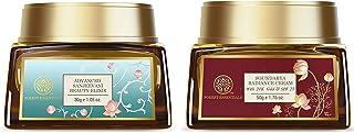 Forest Essentials Soundarya Radiance Cream With 24K Gold & SPF25 (2020) 50g & Forest Essentials Sanjeevani Beauty Elixir, 30g