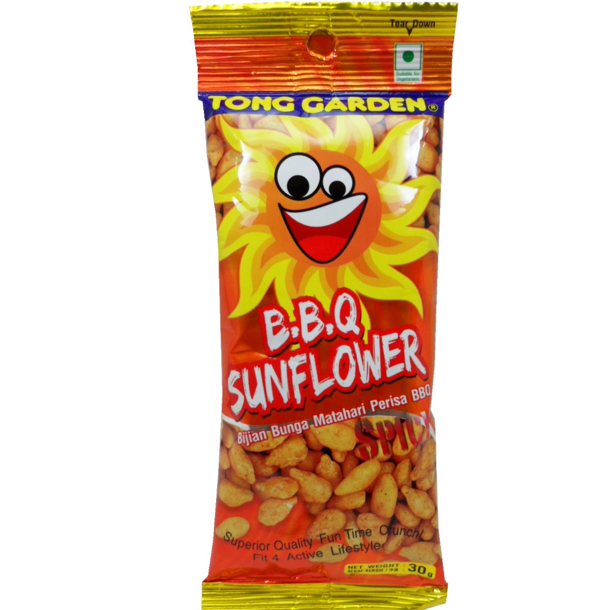 Tong Virginia Beach Mall low-pricing Garden Snack Sunflower Seed Barbecue 30g 1.0 Wt Net Flavor