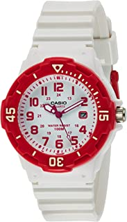 Casio Women's White Dial Resin Analog Watch - LRW-200H-4BVDF