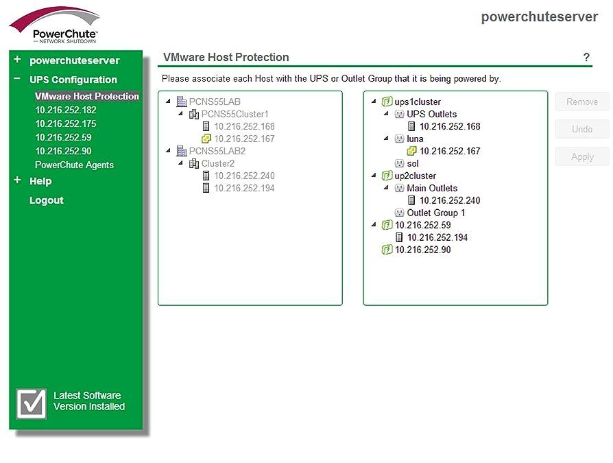 混合した祖母もしPowerChute Network Shutdown 1 Node Virtualization SSPCNSV1J