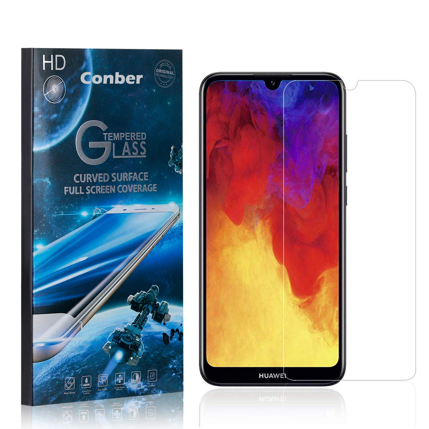 Conber 2021 autumn and winter new 1 Pack Screen Protector 2019 Y6 Scratch-Re wholesale Huawei for