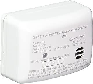 MTI INDUSTRIES 20441PWT 12V Propane/Gas Detector, White