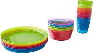 IKEA - KALAS Children Color Bowl, Tumbler and Plate Sets X6 Each (Set of 18)