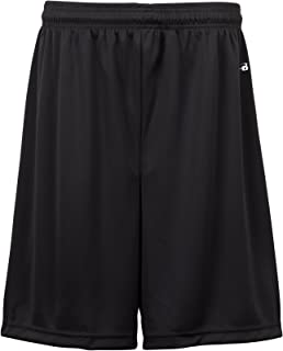 Badger Sportswear Boys` B-Dry Performance Short, Black, Large