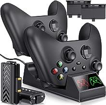 Carregador com bateria recarregável Xbox One para controles Xbox Series X/Xbox Series S/Xbox One/One X/One S Elite