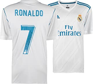 Cristiano Ronaldo Real Madrid Autographed 2017-2018 Jersey - Fanatics Authentic Certified - Autographed Soccer Jerseys