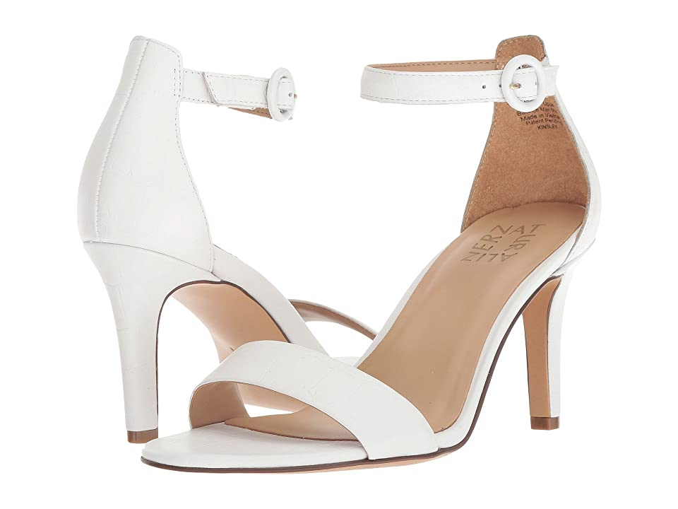 Naturalizer Kinsley (White Crocco Leather) High Heels