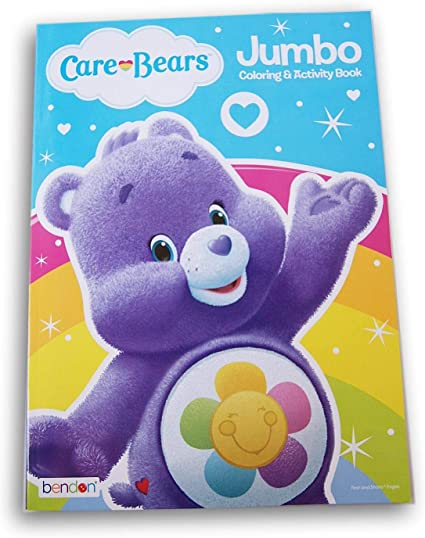 - Amazon.com: Care Bears Coloring Book - 96 Pages (Harmony Bear): Toys & Games