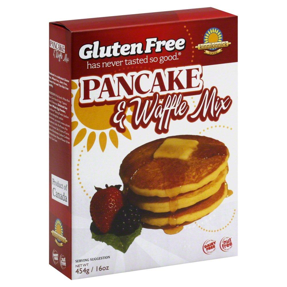 New color Kinnikinnick Miami Mall Foods Pancake Waffle Mix Pack Oz of 16 6