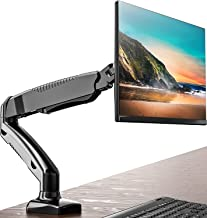 FITUEYES Monitor Desk Mount Stand Ergonomic Full Motion LCD Computer Screen Arm Gas Spring Swivel & Tilt fit 13-27 Inch | ...
