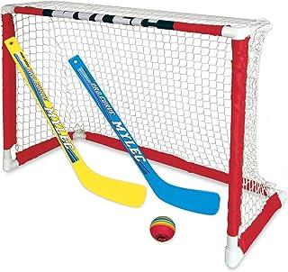 NEW Zetterberg Mylec Pro Style Mini Hockey Goal Set, White