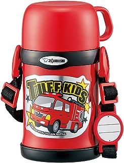 象印 保温杯 两用式 杯子&吸管 不锈钢 450ml 红色 SC-ZT45-RA