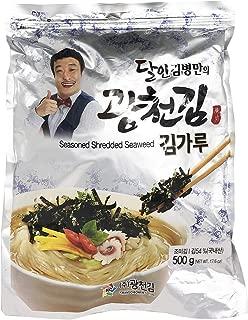 Seasoned Shredded Seaweed 500g Kwangcheonkim Kim Nori Seaweed Snacks Korean Kim Nori Seaweed