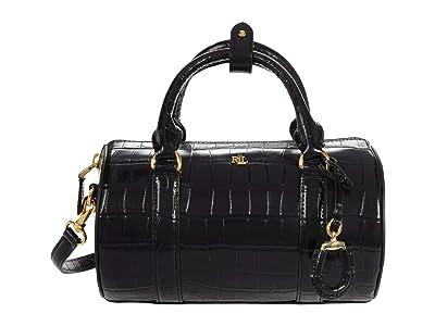 LAUREN Ralph Lauren Zoey 22 Crossbody (Black) Handbags