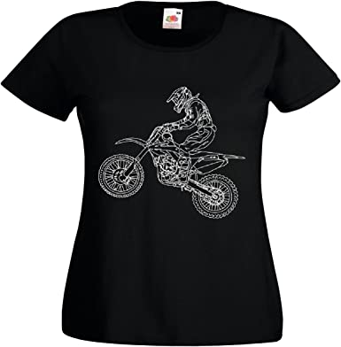T-Shirt Camiseta Remera Motocross - Enduro - Stunt ...