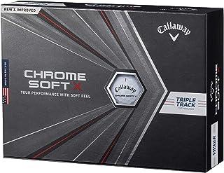 Callaway(キャロウェイ) ゴルフボール CHROME SOFT X 2020年モデル