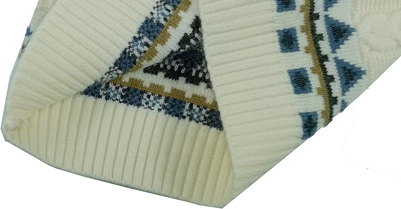 Zeman Boys Cable Knit Pullover Warm Sweatshirt Fall//Winter Long Sleeve Sweater
