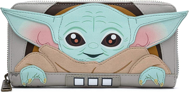 Loungefly Star Wars Baby Yoda The Mandalorian Wallet