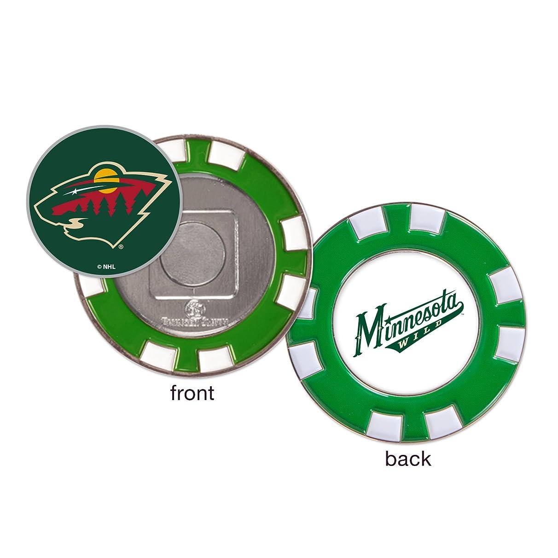 Minnesota Wild Poker Chip Golf Ball Marker