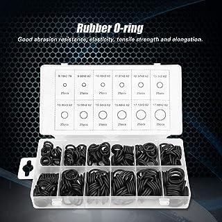 Anel de vedação de borracha, 300pcs 12 tamanhos Conjunto de sortimento de vedação de arruela de vedação para encanamento p...