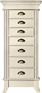 Hives and Honey Alexa Jewelry Armoire, WHITE