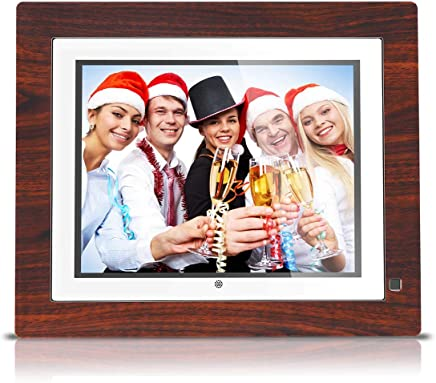 BSIMB Digital Picture Frame Digital Photo Frame 9 inch IPS Display 1067x800(4:3) Hi-Res Digital Photo & HD Video Frame and Motion Sensor USB/SD Card Playback Infrared Remote Control M09