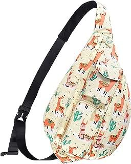 Unisex Sling Bag Travel Chest Pack Multipurpose Casual Rope Crossbody Backpack Daypack