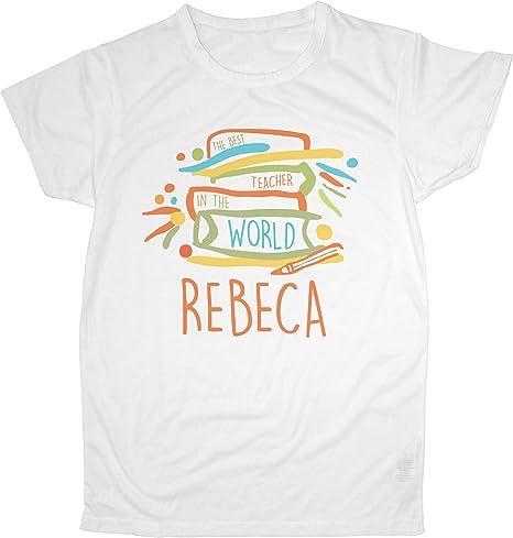 LolaPix Camiseta Profesor y Profesora Personalizada con el ...