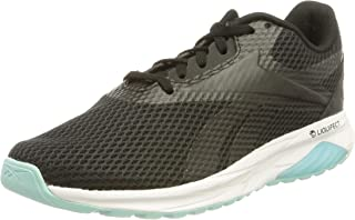 Reebok Liquifect 90 Two-Tone Mesh Textile Side Logo Chunky Sole Lace-up Running Shoes for Women