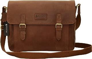 Picchio Men's Genuine Delta Brown Leather 14