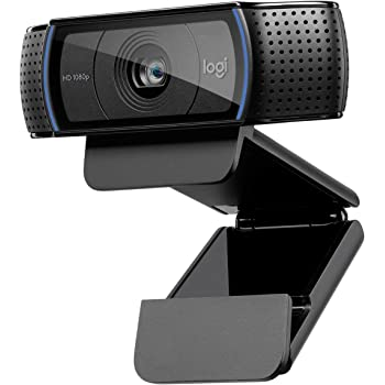 Logitech HD Pro Webcam C920, 1080p Widescreen Video Calling and Recording-(Renewed)