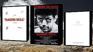Raging Bull Script/Screenplay Met Film Poster En Handtekeningen Ondertekende Print…