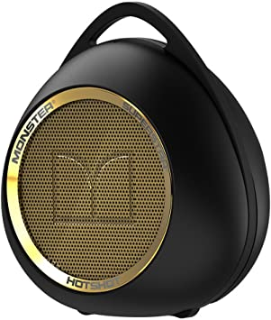 Amazon.com: Monster SuperStar HotShot Portable Bluetooth Speaker ...