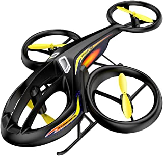RC Helicopter, SYMA Latest Remote Control Drone with Gyro and LED Light 4HZ Channel Plastic Mini Series Helicopter for Kid...