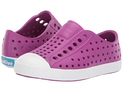Native Kids Shoes Jefferson (Toddler/Little Kid) (Origami Purple/Shell White) Girls Shoes