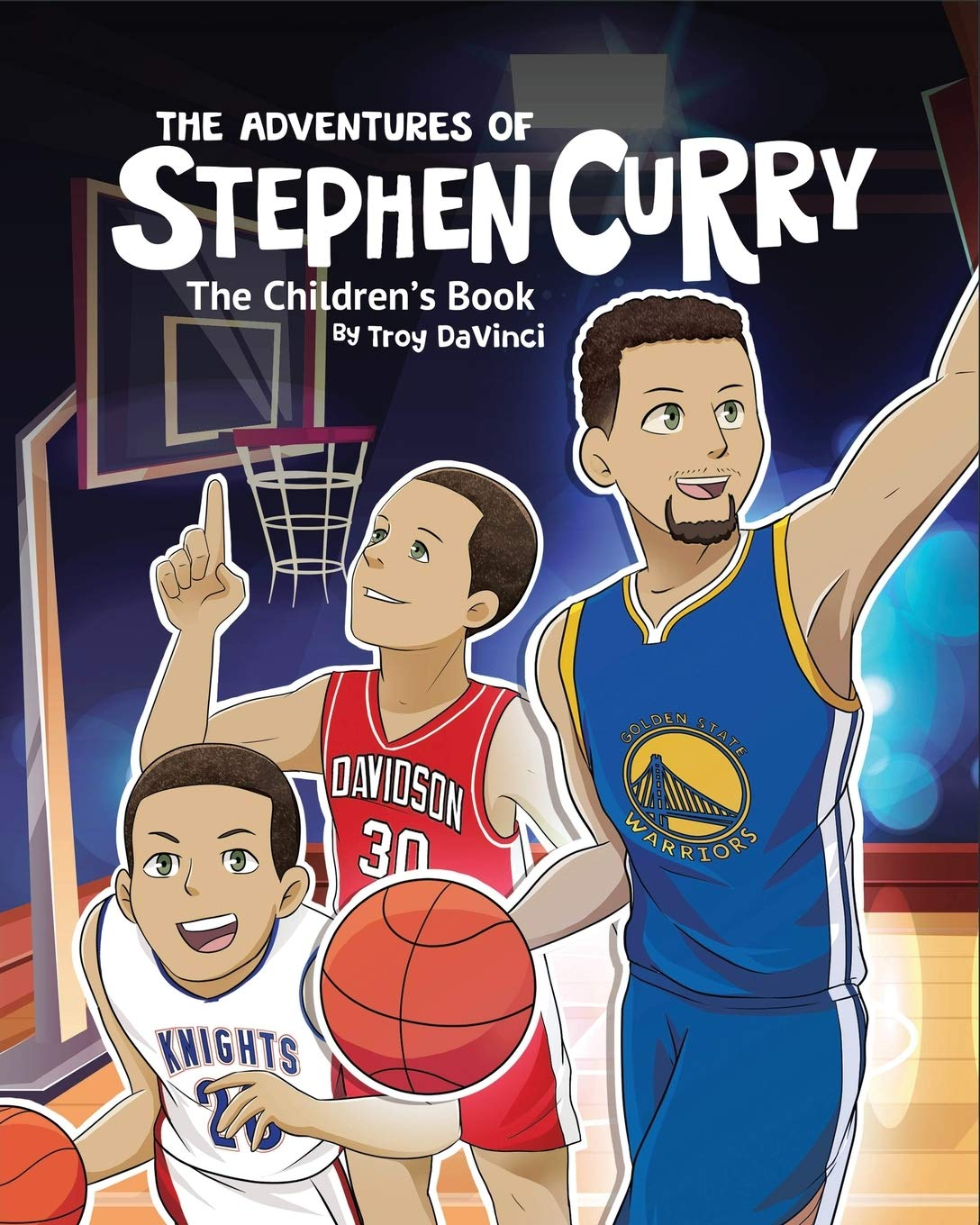 Image OfThe Adventures Of Stephen Curry: The Children's Book