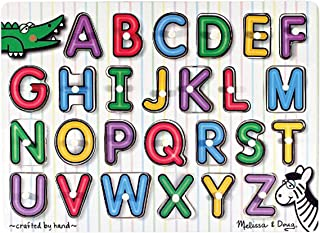 Melissa and Doug See-Inside Alphabet Peg (UC) 3272 - Jigsaws and Puzzles