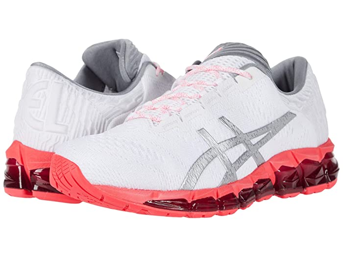 ASICS GEL-Quantum 360 5 (White/Silver) Womens Running Shoes